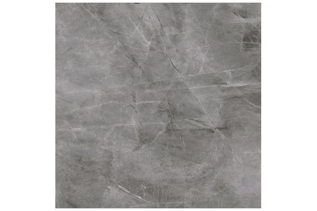 Porcelanato Esmaltado Polido Pupis Grafite Intense 84x84cm - Delta