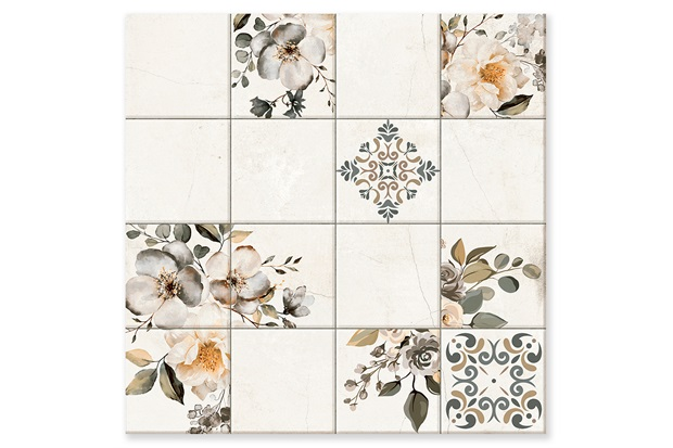 Porcelanato Esmaltado Polido Retificado Baiano Polido Branco 73x73cm - In Out
