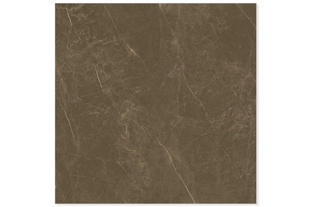 Porcelanato Esmaltado Polido Retificado Castellón Marrom 120x120cm - Portinari