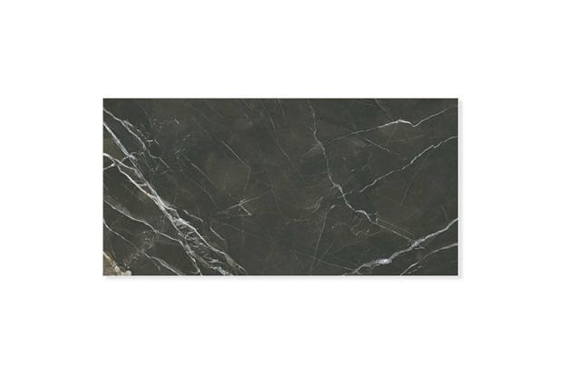 Porcelanato Esmaltado Polido Retificado Monte Etna Preto 80x160cm - Portinari
