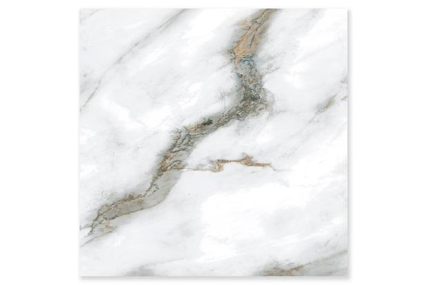 Porcelanato Esmaltado Polido Retificado Toninho Polido Branco 73x73cm - In Out