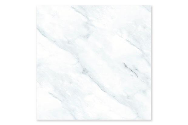 Porcelanato Esmaltado Polido Retificado Zezé Polido Branco 73x73cm - In Out