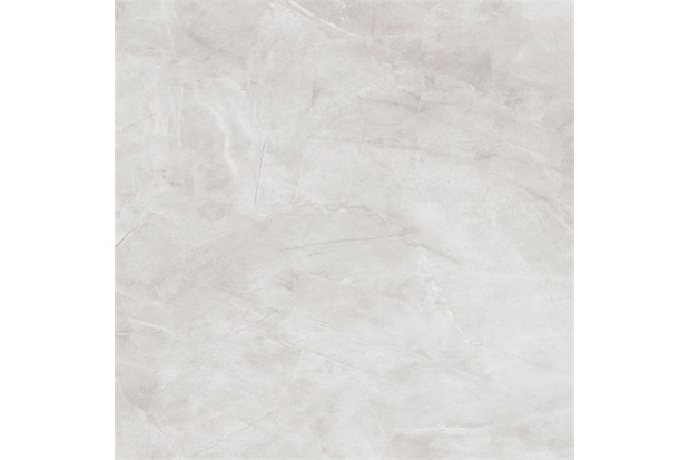 Porcelanato Esmaltado Pulpis Marmorizada Retificado Polido Cinza 84x84cm - Delta