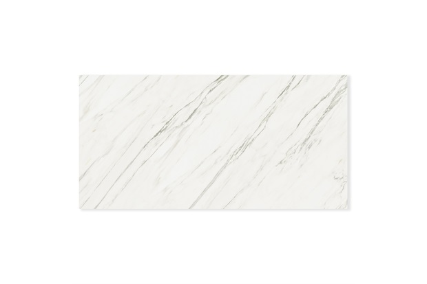 Porcelanato Esmaltado Retificado Véu de Noiva Branco Polido 80x160cm - Ceusa