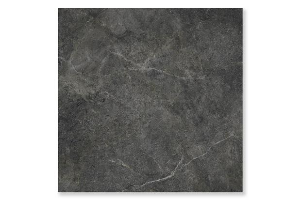 Porcelanato Natural Borda Reta Cement Stone Preto 87,7x87,7cm - Cerâmica Portinari