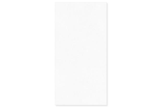 Porcelanato Natural Borda Reta Croma Branco 58,4x117cm - Portinari