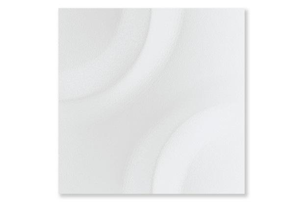 Porcelanato Natural Borda Reta Space Block Branco 20,1x20,1cm - Cerâmica Portinari