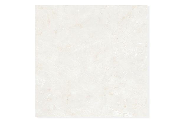 Porcelanato Polido Borda Reta Crema Marfil Bege 70x70cm - Delta
