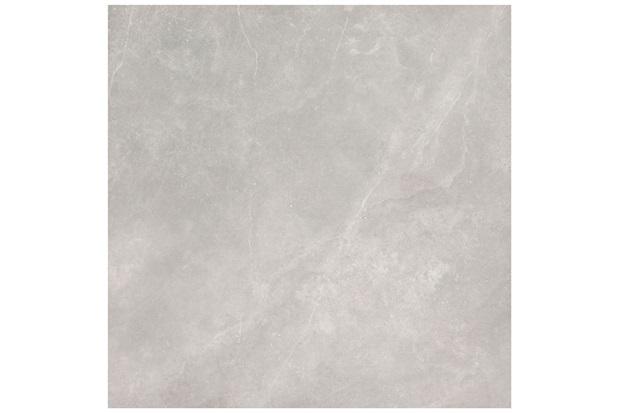 Porcelanato Polido Borda Reta Dolmen Cinza 120x120cm - Eliane