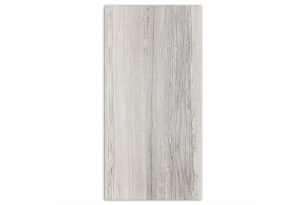 Porcelanato Polido Borda Reta Marmi Classico Silver Tiger Stripes 60x120cm - Portobello