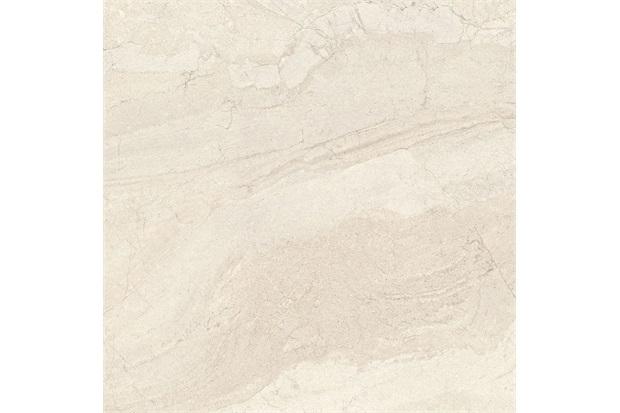 Porcelanato Polido Borda Reta Mediterrâneo Off White 90x90cm - Portinari
