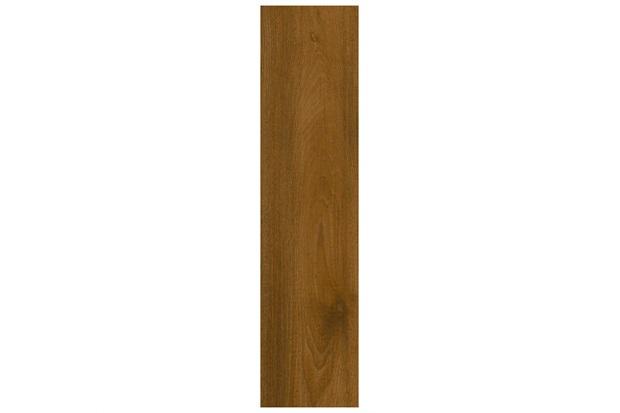 Porcelanato Polido Borda Reta Naturale Brown Oak Marrom 23x98cm - Villagres