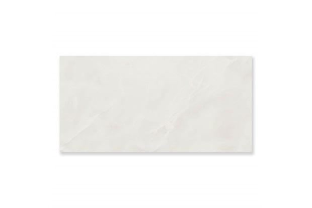 Porcelanato Polido Borda Reta Onice Branco 58,4x117cm - Portinari