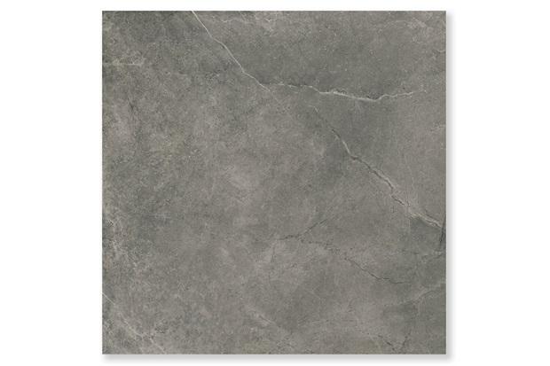 Porcelanato Polido Brilhante Borda Reta Cement Stone Cinza Escuro 87,7x87,7cm - Cerâmica Portinari