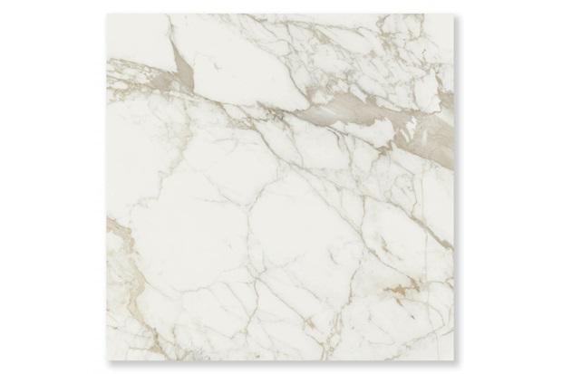 Porcelanato Polido Brilhante Borda Reta Vivaldi Carrara Branco 87,7x87,7cm - Cerâmica Portinari