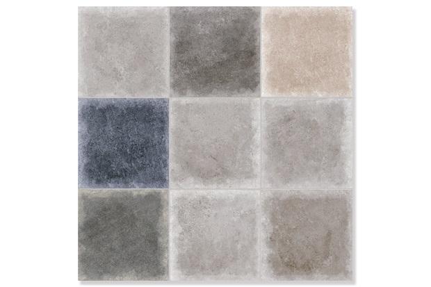 Porcelanato Retificado Acetinado Cemento Vecchio Multi 60x60cm - Biancogres