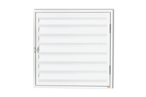 Porta Abrigo com Ventilação Plus 60x80cm Branco - Brimak