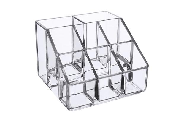 Porta Cosméticos com 8 Divisórias Beauté 10x7cm - Coza