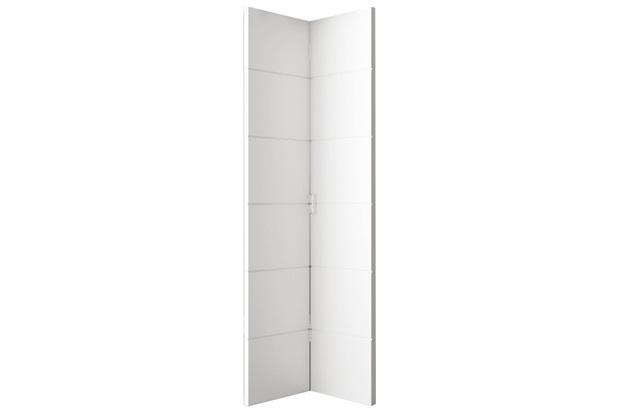 Porta Duo Bella em Hdf 210x62cm Primer Branco - Vert