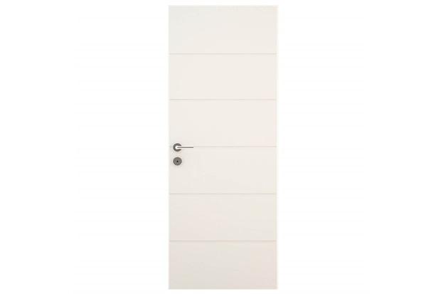 Porta em Mdp Bella Primer 210x62cm Branca - Vert