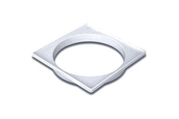 Porta Grelha Quadrado 100mm Branco - Tigre