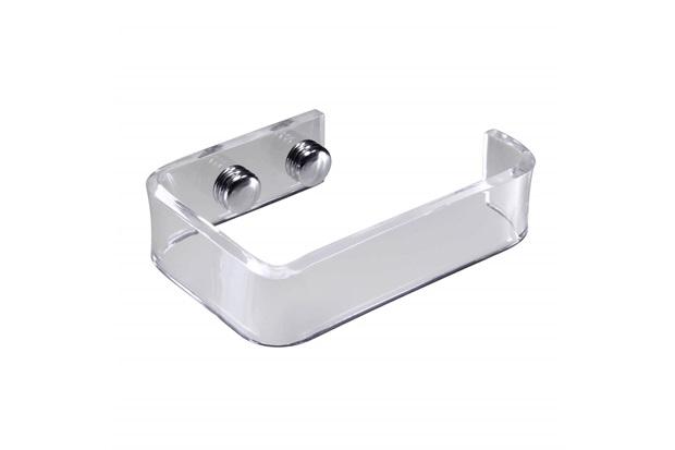 Porta Papel Higiênico em Acrílico Diamante Cristal - Formacril