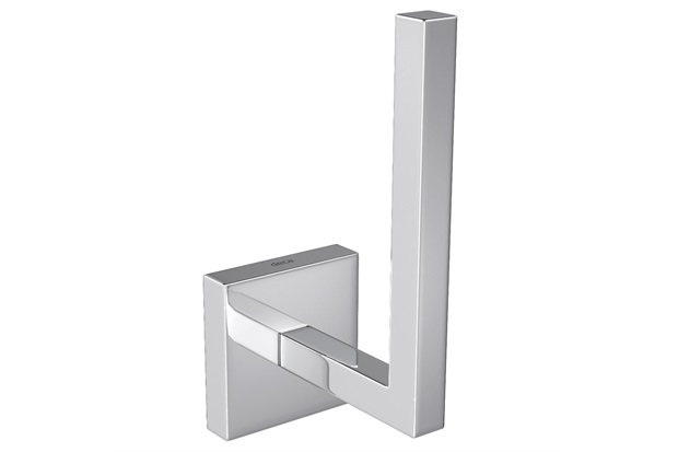 Porta Papel Higiênico Vertical Clean Cromado - Deca