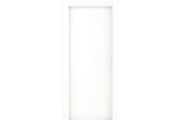 Porta Premium Lisa Branco Carrara 210x72cm - Famossul