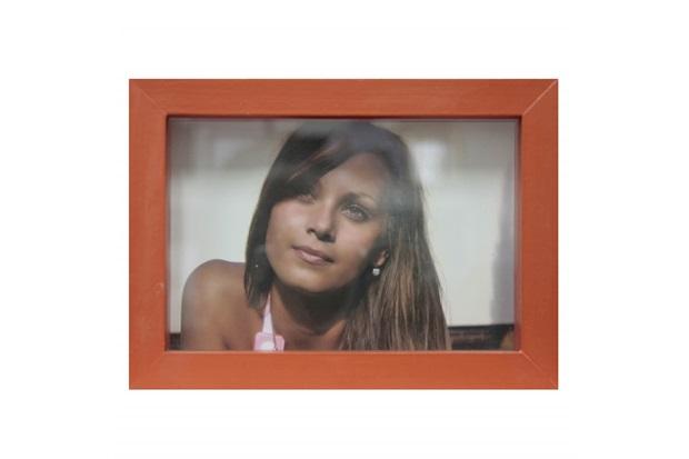 Porta Retrato Caixa Color 15x21cm Coral - Kapos