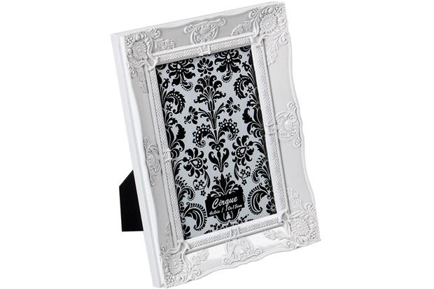 Porta-Retrato Cirque 10x15cm Branco - Importado