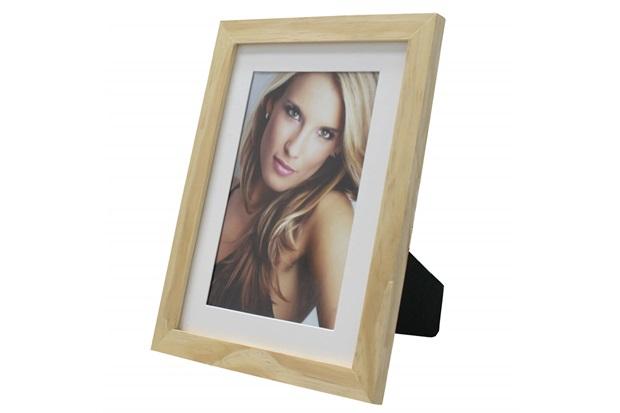 Porta Retrato com Paspatur Insta 18x24cm Natural - Kapos