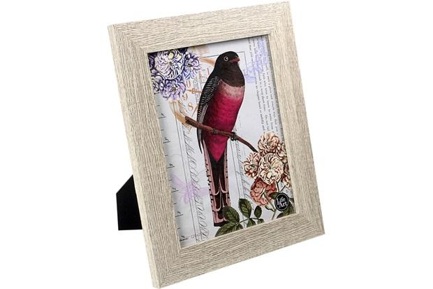 Porta-Retrato Memphis Mdf Claro 13x18cm - Importado