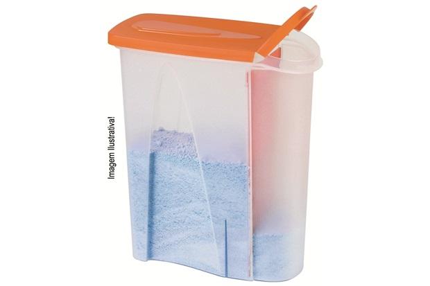 Porta Sabão em Pó 1kg Ref. 2845 - Plasútil
