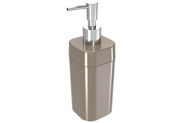 Porta Sabonete Líquido Splash 290ml Warm Gray - Coza