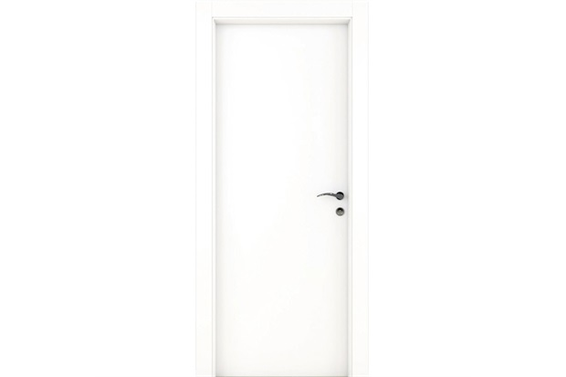 Porta Semissólida Standard Lisa Primer Branca 82cm - Famossul