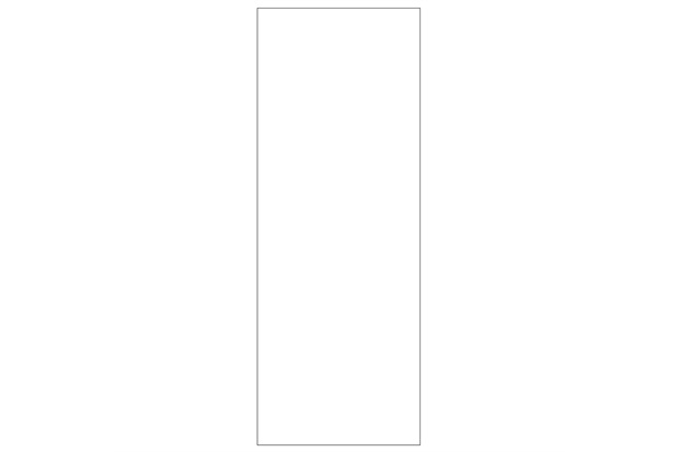 Porta Standard Decor Primer Branca 70cm - Famossul