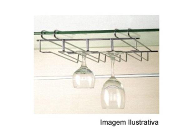 Porta Taças Cromado Ref. 110427 - Wireking