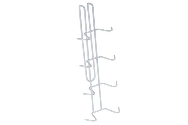 Porta Xícaras de Pendurar 5,7x11x27cm Branco - Arthi