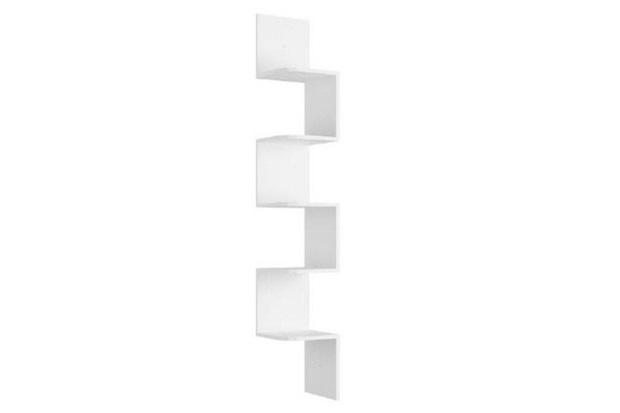 Prateleira de Canto em Mdp Decore 158x25cm Branca - Multivisão
