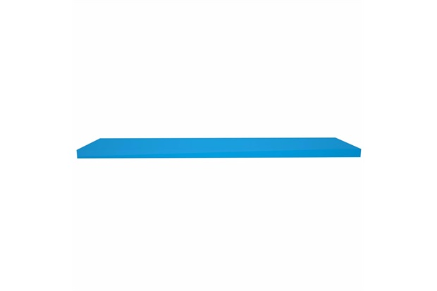Prateleira em Madeira 100x25cm Azul Escuro - Decorprat