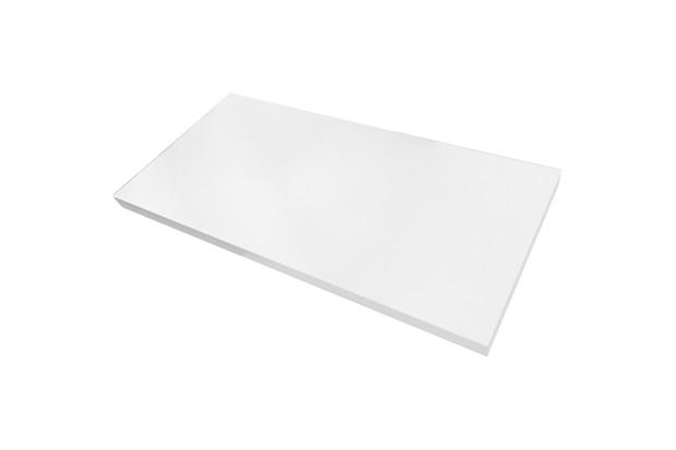 Prateleira em Mdp com Suporte Invisível Decore 25x90cm Branca - Multivisão
