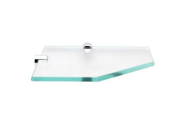 Prateleira em Vidro 20x10cm Transparente - Rack System