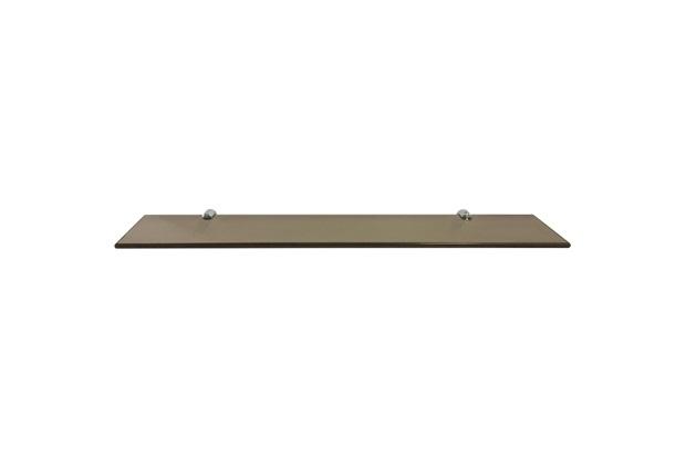 Prateleira em Vidro 60x10cm Bronze - Rack System