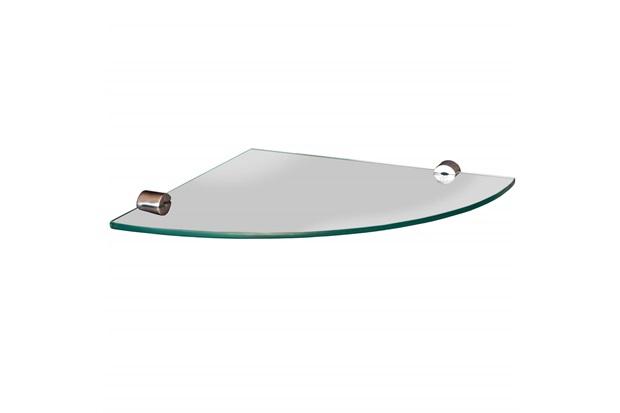 Prateleira em Vidro Canto 15x15cm Transparente - Sicmol