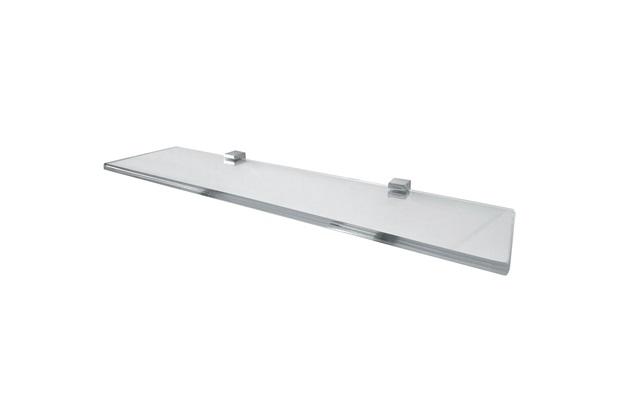 Prateleira em Vidro Quadrata 40x10cm Transparente - Rack System