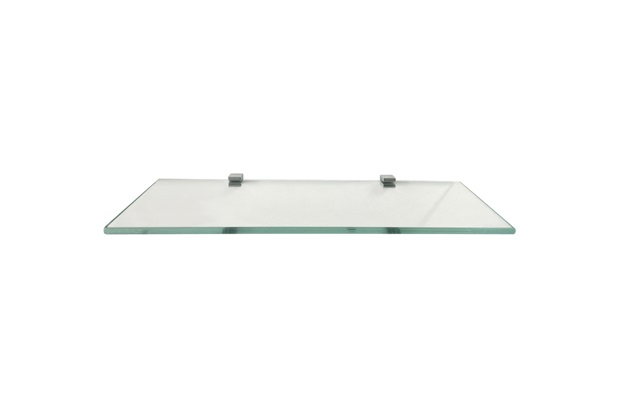 Prateleira em Vidro Quadrata 40x15cm Transparente - Rack System