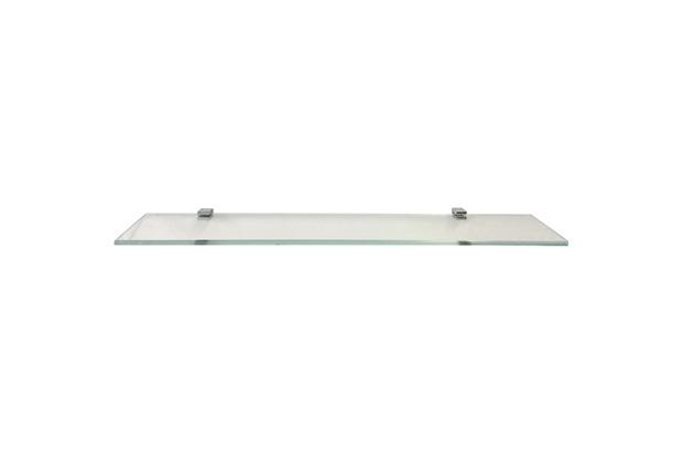 Prateleira em Vidro Quadrata 60x10cm Transparente - Rack System
