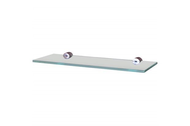 Prateleira em Vidro Reta 30x10cm Transparente - Sicmol