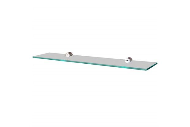 Prateleira em Vidro Reta 40x10cm Transparente - Sicmol