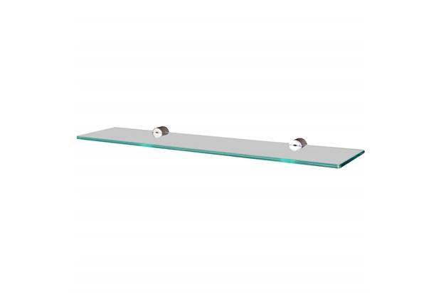 Prateleira em Vidro Reta 40x15cm Transparente - Sicmol